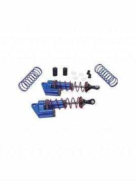 INT MSR9 Front Piggyback Shock, Blue (2): ST, SLH (INTT7963BL)