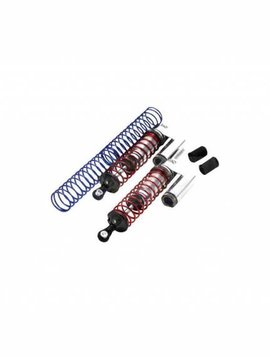 Integy MSR9 Front Piggyback Shock, Silver (2): ST, SLH (INTT7963S)
