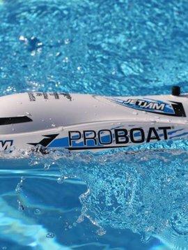 "Pro Boat PRB08031T2 Jet Jam 12"" Pool Racer, White: RTR"