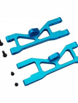 HRA ECT5506 Blue Aluminum Front Arm Set ECX