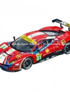 "carrera 30848 Ferrari 488 GT3 ""AF Corse, No.51"", Digital 132 w/Lights"