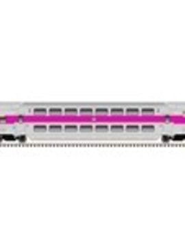 atlas 4837 HO MULTI-LEVEL COMMUTER CAB CAR MBTA #1804