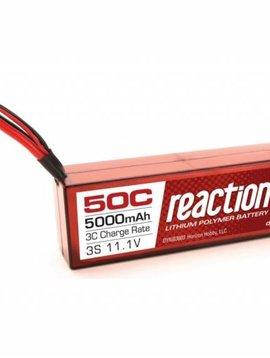Dynamite DYNB3803EC Reaction 11.1V 5000mAh 3S 50C LiPo, Hardcase: EC3