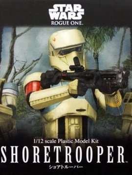 BAN BAN210511 1/12 Scale Shoretrooper Star Wars Plastic Model Kit