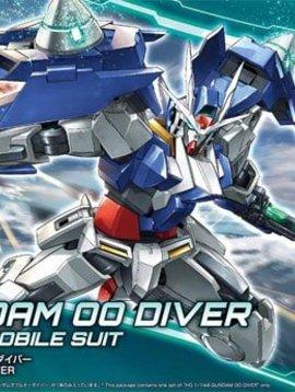 BAN BAN225728 Gundam 00 Diver HG 1/144 Gundam Model Kit