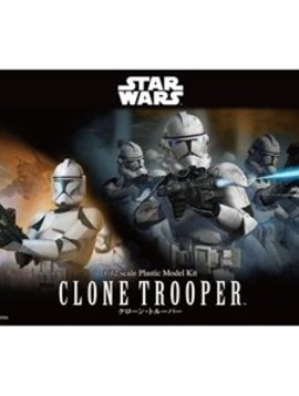 Bandai BAN207574 1/12 Scale Clone Trooper Star Wars Model kit