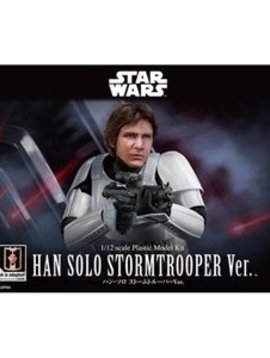 Bandai BAN225743 1/12 Scale Han Solo Stormtrooper Ver. Star Wars Plastic Model kit