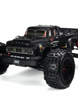 Arrma AR406147 Body, Black Real Steel: Notorious 6S BLX