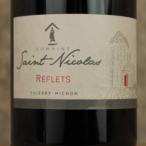 Domaine Saint Nicolas Domaine St Nicolas Fiefs Vendeens Rouge 'Reflets' 2014, Loire Valley, France