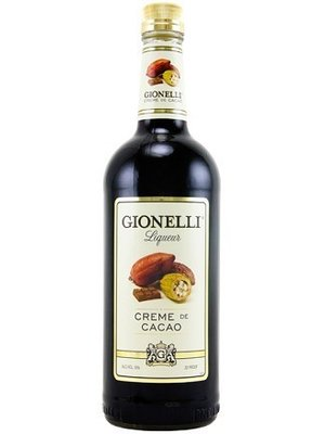 Gionelli Liqueur 'Creme de Cacao Dark', Minnesota (1000ml)