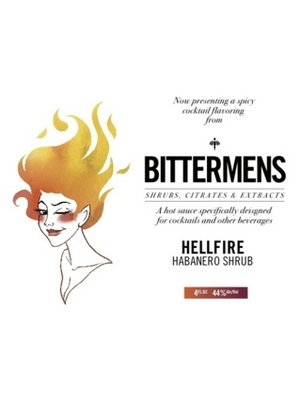 Bittermens Bitters 'Hellfire Habanero Shrub', New Orleans, Louisiana (146ml)