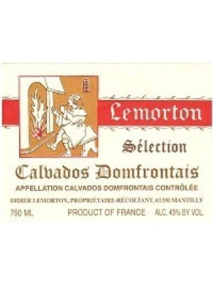 Lemorton Calvados Domfrontais 'Selection', Normandy, France (750ml)