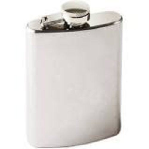 True 4oz Stainless Steel Flask 'Trueflask'