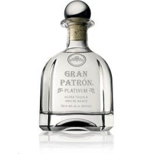 Gran Patron Tequila Silver Platinum, Mexico (750ml)