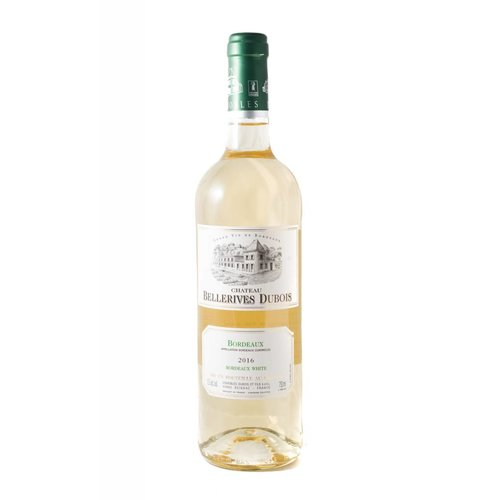 Chateau Bellerives Dubois Cotes de Blaye Blanc 2016, Bordeaux, France (Kosher)