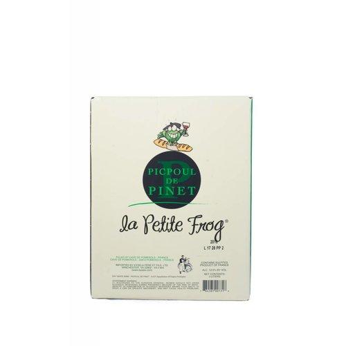 La Petite Frog Picpoul de Pinet 2016, Languedoc-Roussillon, France (3000ml Box)