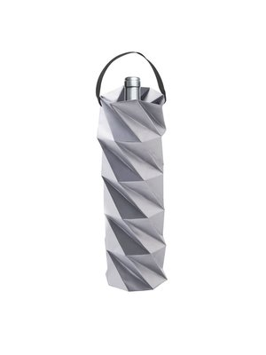Origami Wine Gift Bag (Silver)