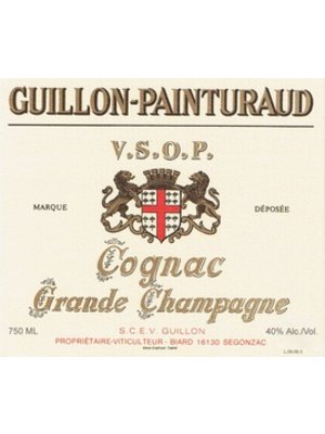 Guillon-Painturaud Cognac Grande Champagne 'VSOP', Cognac, France (750ml)