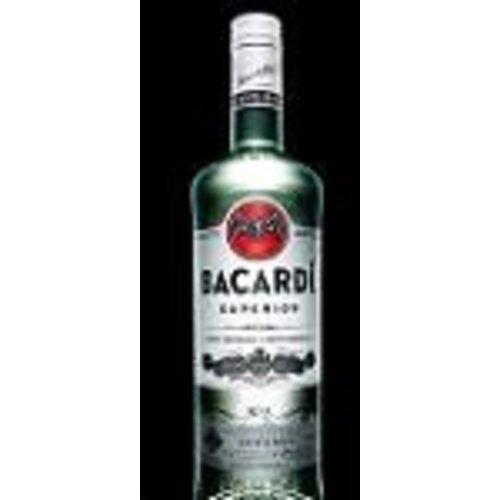Bacardi Rum 'Superior', Puerto Rico (50ml)
