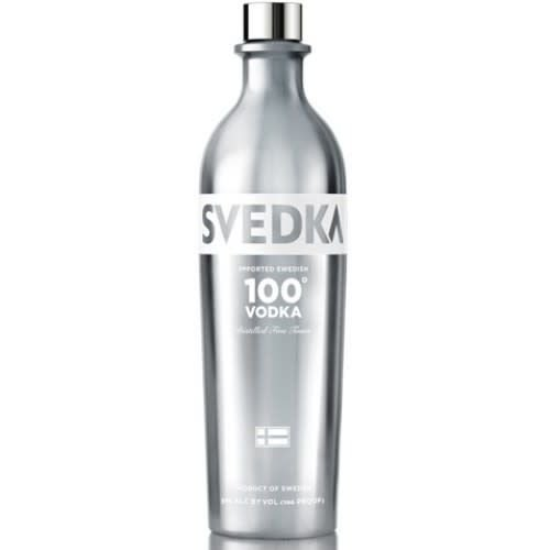 Svedka Vodka '100 Proof', Sweden (375ml)