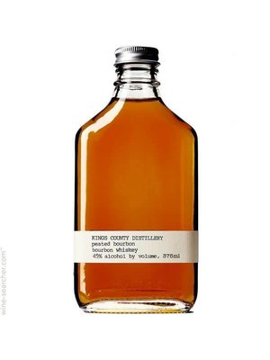 Kings County Distillery American Whiskey 'Peated Bourbon', Brooklyn, New York (200ml)