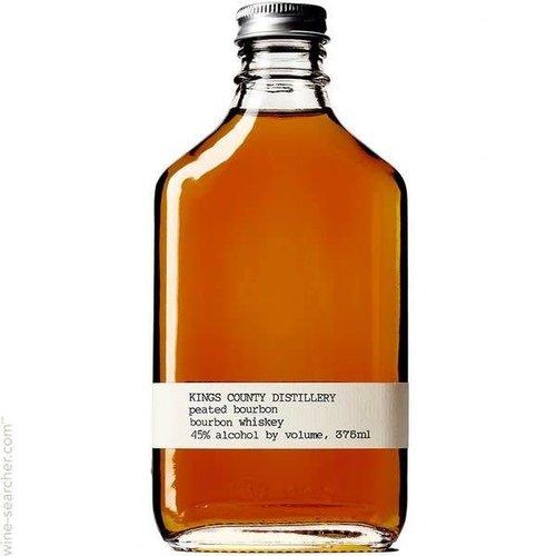 Kings County Distillery American Whiskey 'Peated Bourbon', Brooklyn, New York (200ml)