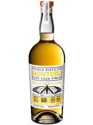 Maison Monteru Maison Monteru 'Double Distilled' Rare Cask Finish Sauternes Brandy, France (750ml)
