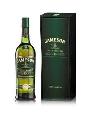 Jameson Blended Irish Whiskey, Limited Reserve 18 Years, Ireland (750ml)