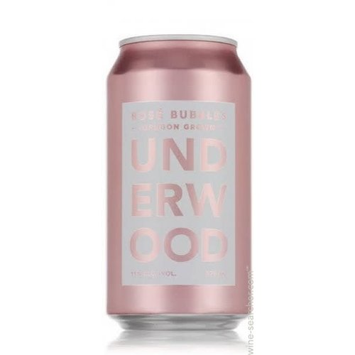 "Underwood Cellars ""Rose Bubbles"", Oregon (375ml can)"