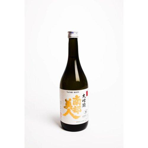 Nanbu Bijin Junmai Daiginjo Sake 'Southern Beauty', Tohoku, Japan (300ml) (Kosher)