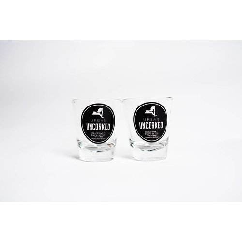 urban uncorked Urban Uncorked Logo Shot Glass