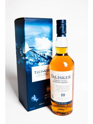 Talisker 10 Year Single Malt Scotch Whisky, Isle of Skye, Scotland (750ml)