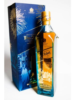 Johnnie Walker Blended Scotch Whisky 'Blue Label' Sky Line, Scotland (750ml)