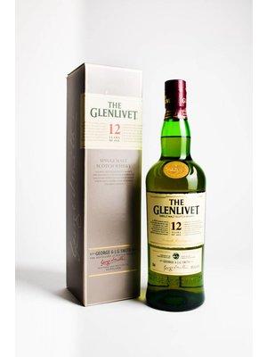 The Glenlivet 12 Year Single Malt Scotch Whisky, Speyside, Scotland (750ml)