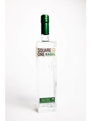 Square One Organic Vodka 'Basil', Rigby, Idaho (750ml)