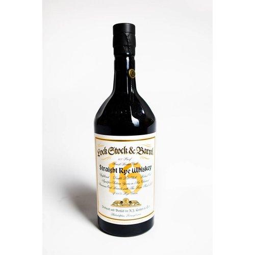 Lock Stock & Barrel Straight Rye Whiskey '16 Year', Philadelphia, Pennsylvania (750ml)