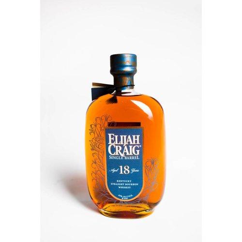 Elijah Craig Single 18yr Bourbon Barrel, Bardstown, Kentucky (750ml)