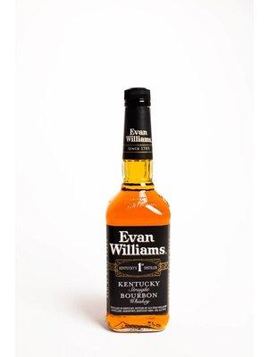 Evan Williams Straight Bourbon Whiskey 'Black Label', Bardstown, Kentucky (750ml)