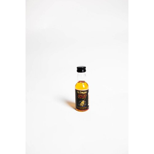 El Dorado Rum Demerara Dark 'Spiced', Guyana (50ml)