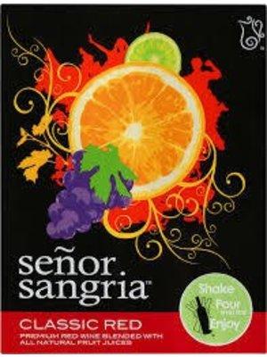 Senor Sangria Classic Red Sangria, Chile (1500ml)