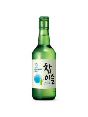 Jinro Jinro Chamisul Fresh Soju, Seoul, Korea (375ml)
