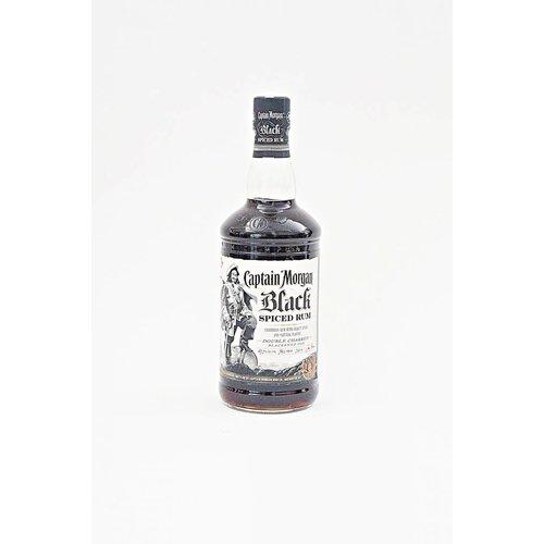 Captain Morgan Rum Black Spiced, Puerto Rico (750ml)