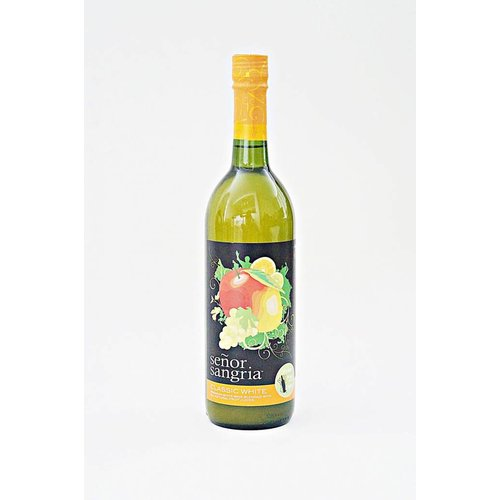 Senor Sangria Classic White Sangria, Chile (750ml)