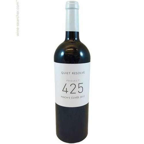 Quiet Resolve 2012 Stellenbosch Cabernet Sauvignon Project 425 Finch's Cuvee,