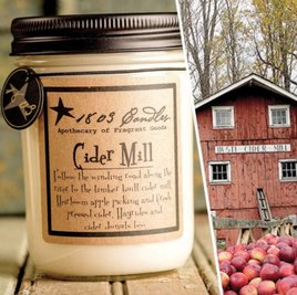 1803 Candles 1803 Cider Mill Candle