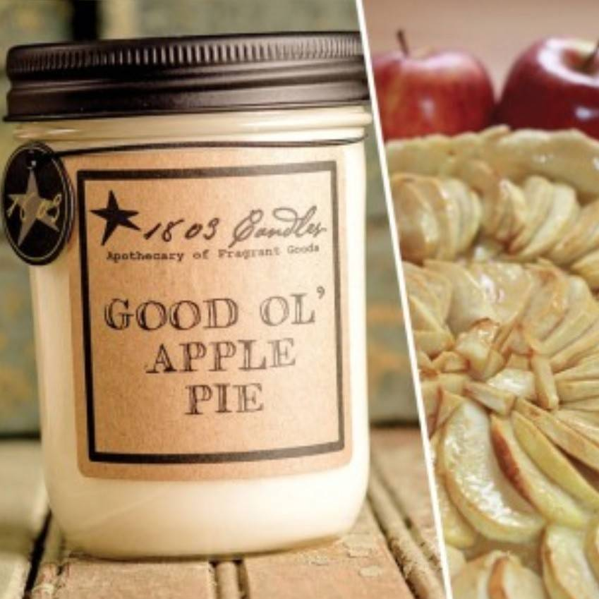 1803 Candles 1803 Good Ol Apple Pie Candle