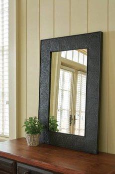 Embossed Star Mirror
