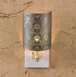 Park Designs Tin Star Punched Night Light