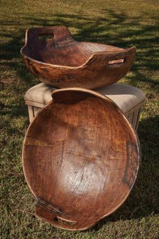 Everard Bowl with Handle Treenware