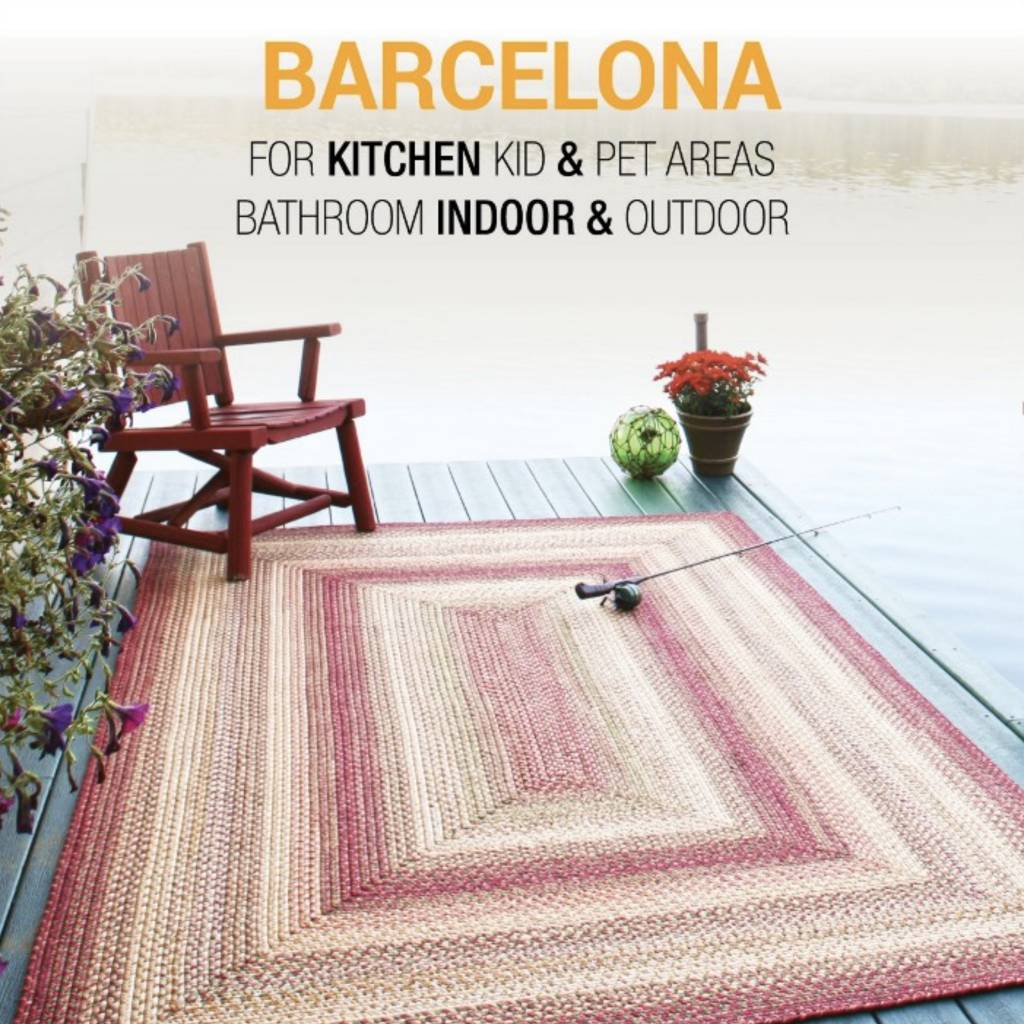 Barcelona Ultra Durable Braided Rugs